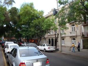 Plaza Luis Cabrera, na Zona Rosa, Cidade do México (Foto: Priscila Dal Poggetto)