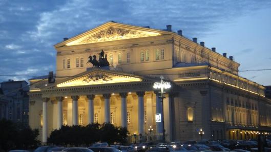 O magnífico Teatro Bolshoi (Foto: Priscila Dal Poggetto)