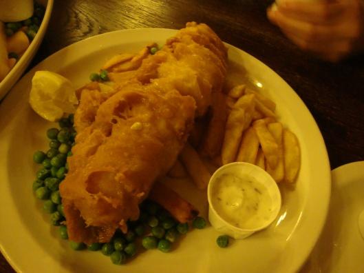 Fish & Chips londrino (Foto: Priscila Dal Poggetto)