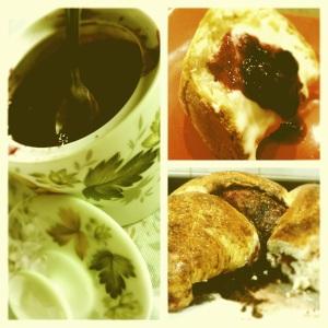 Geleia de fruta do pé e pães caseiros, clássicos do interior (foto: Priscila Dal Poggetto)