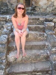 Ruína maia em Cozumel