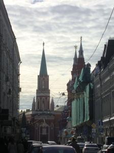 Entrada da Praça Vermelha (Foto: Priscila Dal Poggetto)