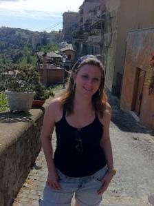 Em Castel Gondolfo (Foto: Priscila Dal Poggetto)
