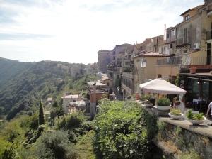 Castel Gandolfo é um simpático vilarejo italiano (Foto: Priscila Dal Poggetto)