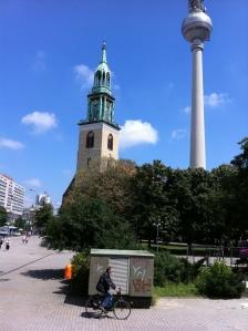 Paz em Berlim (Foto: Priscila Dal Poggetto)
