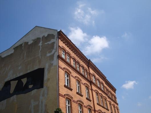 Prédio na Alemanha Oriental (Foto: Priscila Dal Poggetto)
