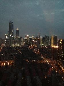 A noite em Xangai (Foto: Priscila Dal Poggetto)