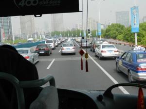 On road: a caminho de Wuhu (Foto: arquivo pessoal)