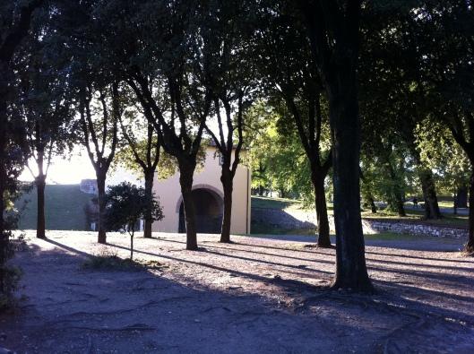 Lucca, a cidade fortificada  (Foto: Priscila Dal Poggetto)
