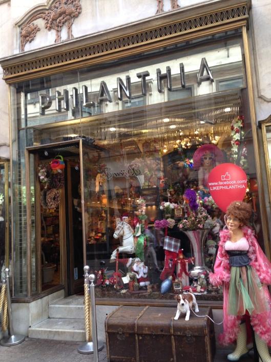 Philanthia é a loja encantada de Budapeste (Foto: Priscila Dal Poggetto)
