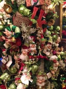 Na Philanthia há enfeites de Natal o ano inteiro (Foto: Priscila Dal Poggetto)