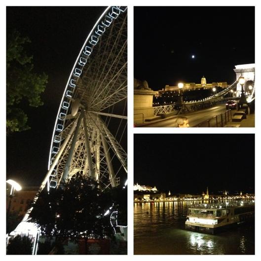 Noite de verão em Budapeste (Foto: Priscila Dal Poggetto)
