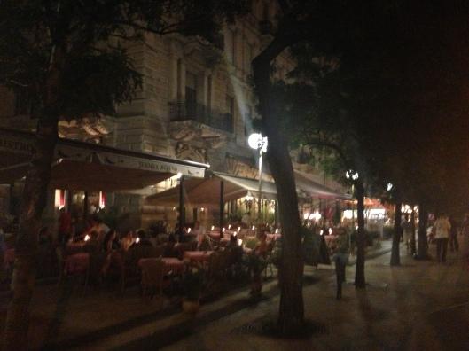 Bares em Budapeste (Foto: Priscila Dal Poggetto)