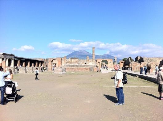 Pompeia foi uma das cidades mais desenvolvidas da Roma Antiga (Foto: Priscila Dal Poggetto)