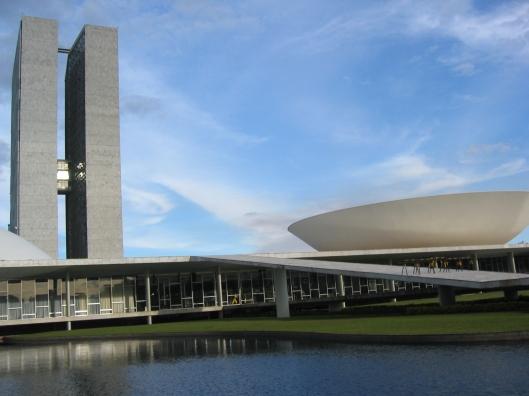 Brasília e seus poderes (Foto: Priscila Dal Poggetto)