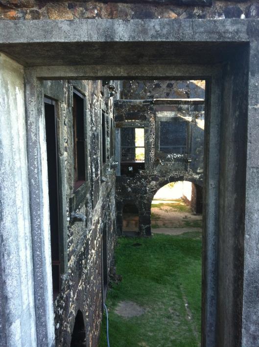 O forte ou Castelo D'Ávilla (Foto: Priscila Dal Poggetto)