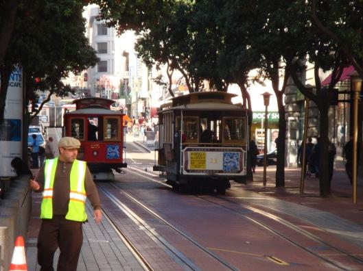 Bondinho de São Francisco (Foto: Priscila Dal Poggetto)