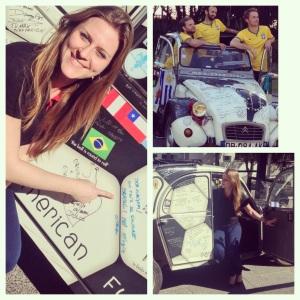 Citroën 2CV na Copa do Mundo (Foto: Priscila Dal Poggetto)