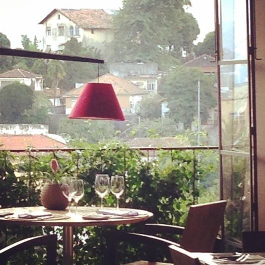 De uma das janelas de Santa Tereza (Foto: Priscila Dal Poggetto)