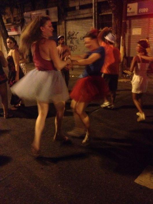 O Carnaval no Rio de Janeiro e as saias de tule