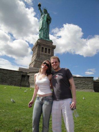 NY estátua da liberdade