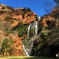 Cachoeira dentro do Walter Sisulu National Botanical Gardens, em Roodepoort