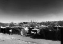 Kliptown em preto e branco
