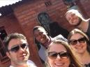 Nosso guia na casa de Nelson Mandela