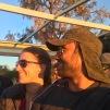 Por do sol no Parque Nacional Chobe