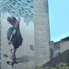 Detalhe de graffiti de Apolo Torres